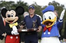 Luke Donald delivers on Disney promise
