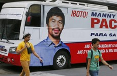 Manny Pacquiao accused of using his final fight to boost election chances