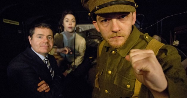 Step inside the 1916 tour bus and see if you're up for the fight