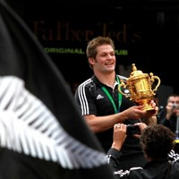In pictures: Thousands turn out to celebrate the All Blacks' World Cup win