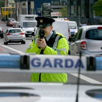 Crackdown: Gardaí clocked these cars breaking speed limits by almost double
