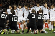 France facing £10,000 fine for advancing on haka