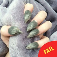 Fur nails is the latest nail art trend and it's seriously weird