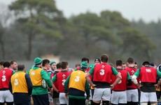U20s hoping big bumps against Ireland senior squad can kick-start campaign