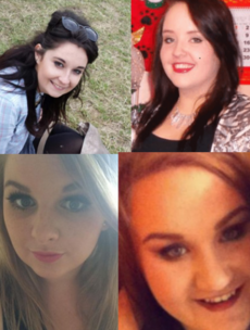 Driver charged over crash in which four of her friends died