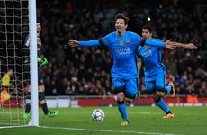 Messi double effectively resigns Arsenal to another last-16 European exit