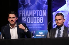 Rivalry just as fierce in the corners ahead of Frampton v Quigg