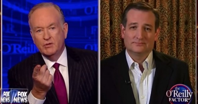 Watch Ted Cruz describe how he will deport illegal Irish immigrants from the US