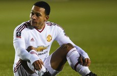 Memphis: I haven't lived up to expectations at United