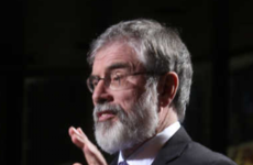 Gerry Adams condemns death threat made to Fine Gael TD