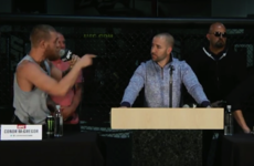 Nate Diaz got Conor McGregor very riled up with steroid accusations
