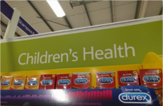 Someone in Tesco put Durex in the most inappropriate aisle possible