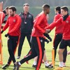 Manchester United without 13 players for tonight's crucial Europa League game