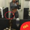 Khloe Kardashian got caught rotten Photoshopping her gym selfies