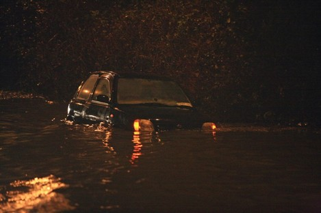 Flooding on the N4 tonight