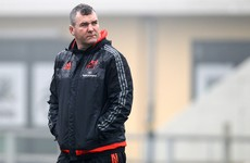 James Cronin ruled out as Munster make six changes for Treviso