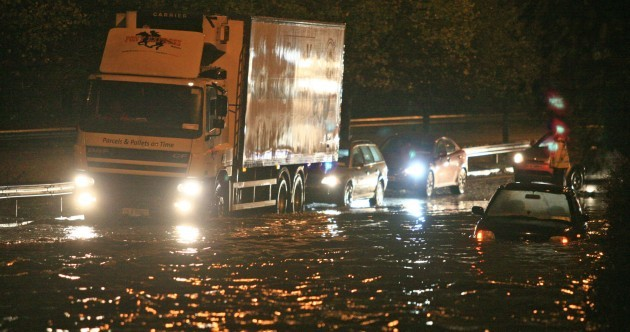 GALLERY: Dublin under water after torrential rainfall