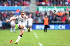 Paddy Jackson named captain as Ulster target Pro12 raid on Cardiff