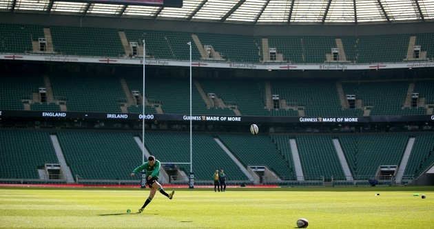 Eddie Jones has made this personal for Sexton and Ireland in London