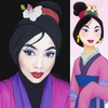 This woman uses her hijab to transform herself into Disney princesses