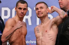 Ridiculous Frampton-Quigg dressing-room row believed to finally be resolved