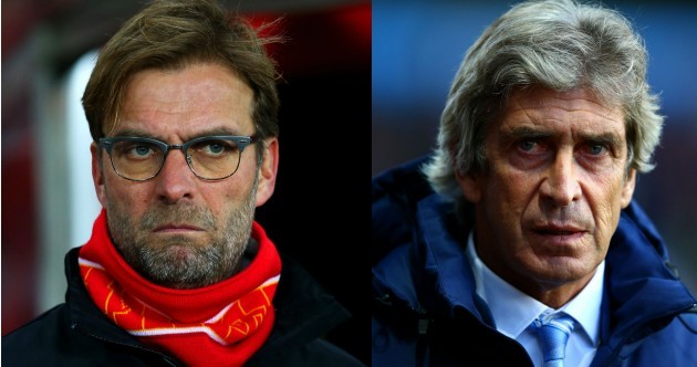 Reputations on the line for Pellegrini and Klopp at Wembley