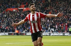A clinical Shane Long finish put Southampton ahead against Chelsea today