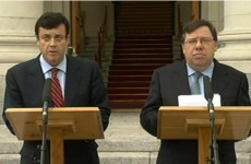 """""""I have the full support of all my colleagues"""" - Cowen"""