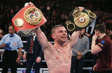 'He caught me with a peach of an uppercut': Frampton broke Quigg's jaw last night