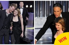 The best Irish Oscars moment was when Jon Stewart brought Marketa back out on stage