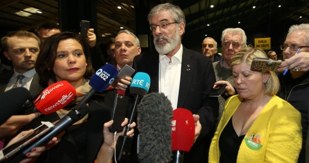Sinn Féin will try to go into government - but is on high alert for another election