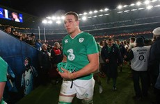 Lam says Dillane was bundle of nerves before Irish debut