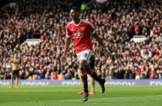 Louis van Gaal handed Premier League debuts to three youngsters in vital Arsenal victory