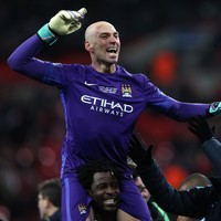 Man City win the League Cup Big Willy style after Caballero's penalty shootout heroics