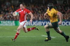 Wales drop two places in latest rugby world ranking