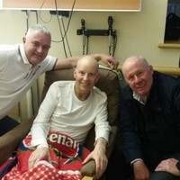 This video of Liam Brady visiting a sick Arsenal fan in hospital is incredibly touching