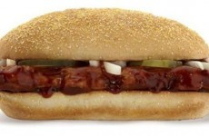 The McRib is back - but is it coming to Ireland?