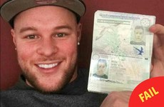 This guy accidentally took his girlfriend's passport on holiday and nobody noticed
