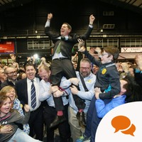 'I'm a first time voter and I got to see democracy unfold in front of my eyes at the RDS'