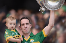 'My proudest moment in a Kerry jersey is having my son in my arms and lifting the Sam Maguire'