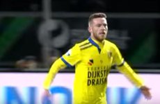 One of Ireland's most promising players made a big impact in the Dutch league at the weekend