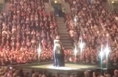 There was a mortifying proposal rejection on stage at Adele in Belfast last night