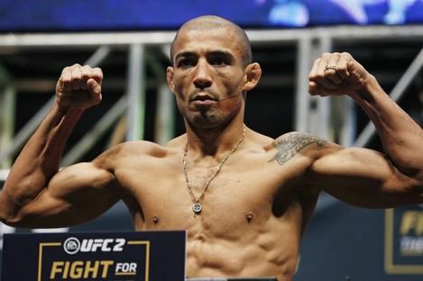 Former UFC featherweight champion Jose Aldo.