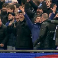 Noel Gallagher's reactions during Man City's shootout win over Liverpool are brilliant