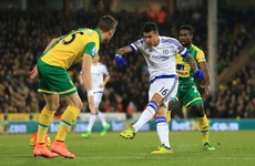 Chelsea youngster Kenedy rifles home the quickest Premier League goal of the season