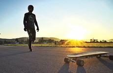 Someone set a world record for the fastest-ever electric skateboard run