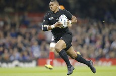 He might have miracle recovery powers but All Black Naholo seems to be cursed with leg breaks