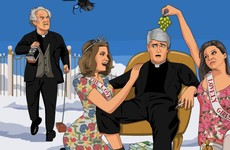 Look at this illustrator's pitch perfect tribute to Dermot Morgan and Frank Kelly