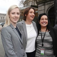 A bigger and buoyant Fianna Fáil was 'back in business' at Leinster House today