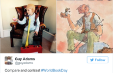 Look at all these adorable kids in their World Book Day costumes